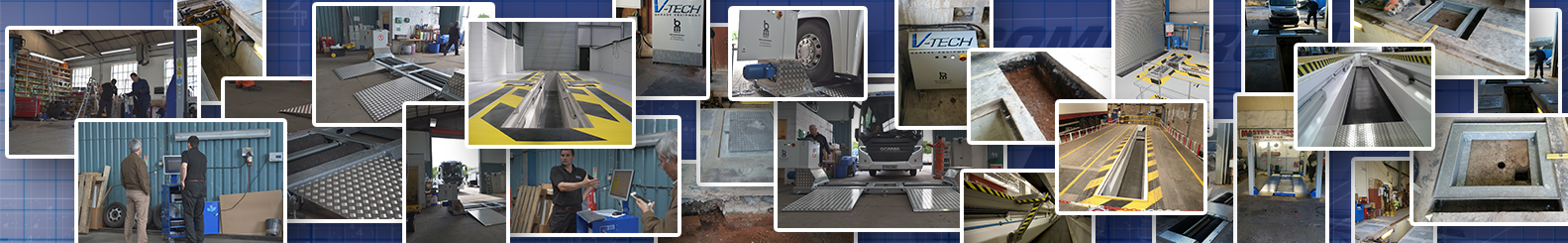 ATL MOT steel pit BM brake tester commercial garage